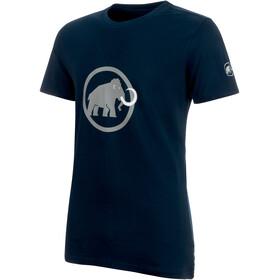 Mammut Logo - Camiseta manga corta Hombre - azul